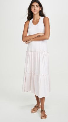 Sundry Tiered Racerback Dress