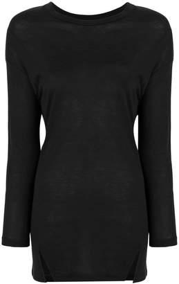 Vince Long Sleeve Drapey tunic top