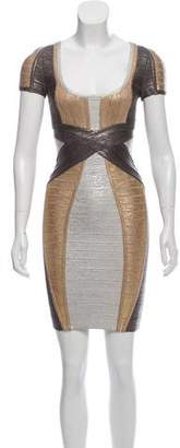 Herve Leger Carolyn Bandage Dress