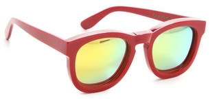 Wildfox Classic Fox Mirrored Sunglasses