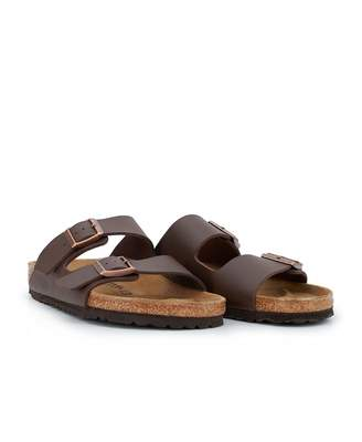 43a3765191490 Birkenstock Arizona Birka Floor Leather Sandals Colour  BROWN