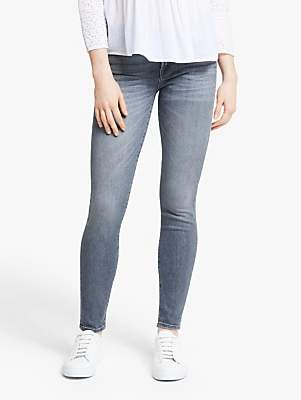 7 For All Mankind The Skinny Slim Illusion Jeans, Grey