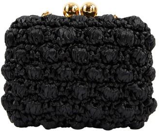 Dolce & Gabbana Black Metal Clutch Bag