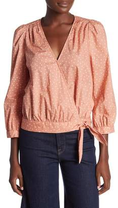 Madewell Star Scatter Wrap Shirt