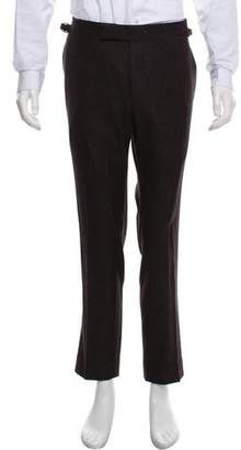 Tom Ford Cashmere-Blend Pattern Pants