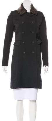 Rag & Bone Ombré Double Breasted Coat