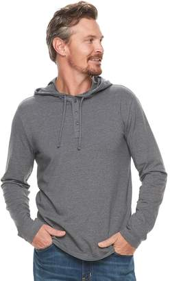 Sonoma Goods For Life Men's SONOMA Goods for Life Slim-Fit Supersoft Henley Hoodie
