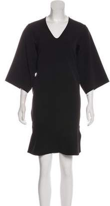 Zero Maria Cornejo Short Sleeve Knee-Length Dress