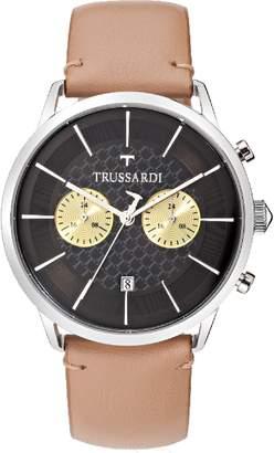 Trussardi T-WORLD 43 mm CHRONOGRAPH MEN'S WATCH