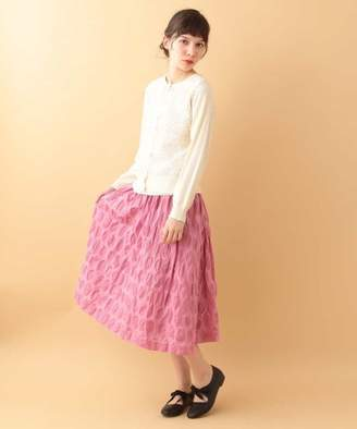 Jocomomola (ホコモモラ) - Jocomomola DOTリップル デザインドットスカート