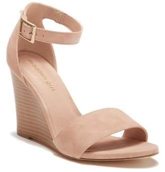 fee39c96b83 Madden-Girl Wendls Ankle Strap Wedge Sandal