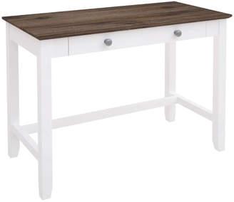 STUDY Dodicci White Brittany Wooden Desk