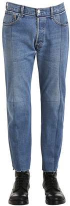 Vetements Reworked Classic Denim Cropped Jeans