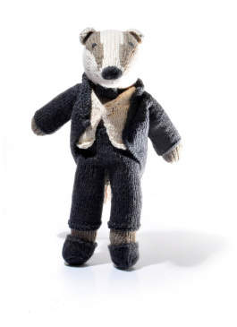Smallable Sale - Crochet Raccoon Soft Toy With Suit