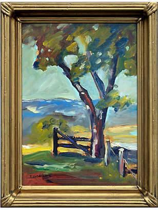 One Kings Lane Vintage California Oak Tree - Robert Azensky Fine Art Art