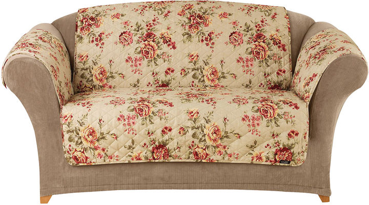 Sure Fit Lexington Floral 1-pc. Sofa Pet Furniture Cover