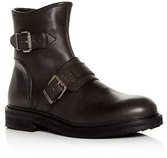 John Varvatos Men's Cooper Leather Moto Boots