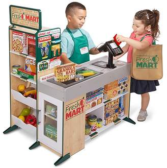 Melissa & Doug Fresh Mart Grocery Store Accessories Set - Ages 3+