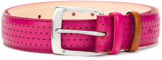 Paul Smith perforated buckled belt