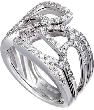 Damiani 18K 0.65 Ct. Tw. Diamond Ring