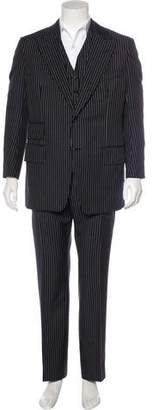 Tom Ford Cashmere & Mohair Striped Suit