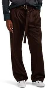 Sies Marjan Men's Andy Wool Relaxed Trousers - Brown