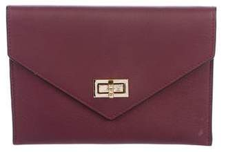 Anine Bing Leather Envelope Clutch
