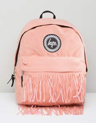 Hype Backpack with Fringed Pocket