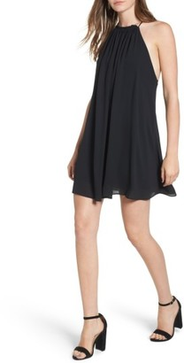 Women's Everly High Neck Swing Dress $45 thestylecure.com