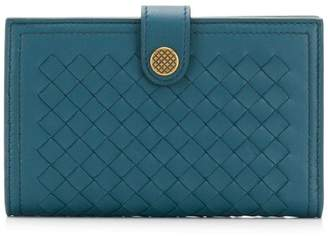 Bottega Veneta flap wallet