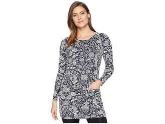 Joules Roya Jersey Jacquard Tunic Women's Blouse