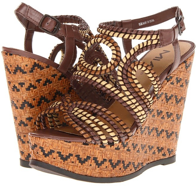 Mia Evelyn (Brown Multi) - Footwear