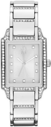 JLO by Jennifer Lopez Women's Crystal Stainless Steel Watch