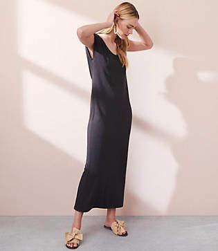 Lou & Grey Garment Dye Maxi Tee Dress