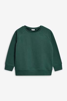 Next Boys Green Crew Neck Sweater (3-16yrs) - Green