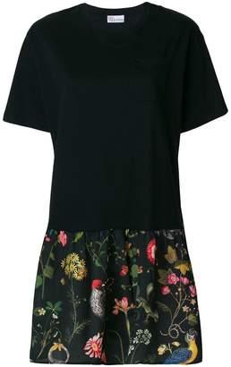 RED Valentino gathered skirt T-shirt dress