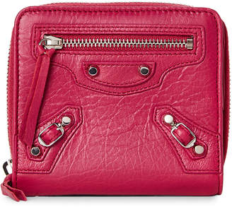Balenciaga Pink Classic Short Wallet