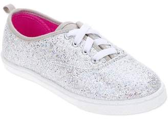 Faded Glory Girls' Sparkle Lace-Up Casual Shoe