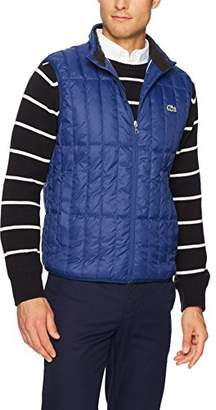 Lacoste Men's Light Down Packable Sleeveless Jacket