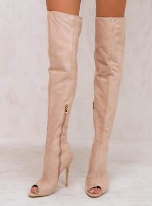 Billini Blush Suede Gigi Boots