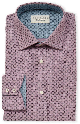 Ted Baker Endurance Diamond Long Sleeve Dress Shirt
