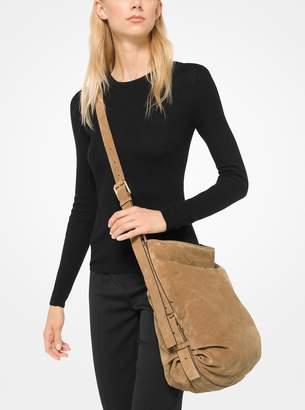 Michael Kors Naomi Extra-Large Suede Shoulder Sack