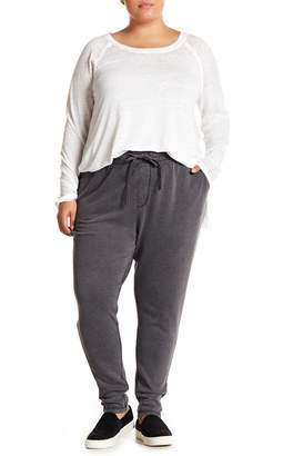 Melrose and Market Drawstring Knit Joggers (Plus Size)