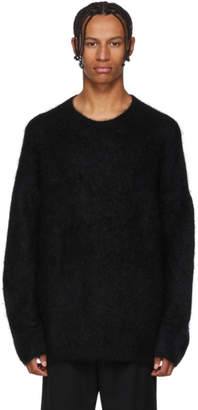 Acne Studios Black Nostri Crewneck Sweater