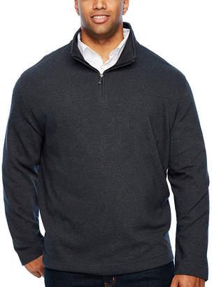 Van Heusen Flex Ottoman 1/4 Zip Quarter-Zip Pullover Big and Tall