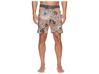 VISSLA Mongo Four-Way Stretch Boardshorts 18.5 Men's Swimwear