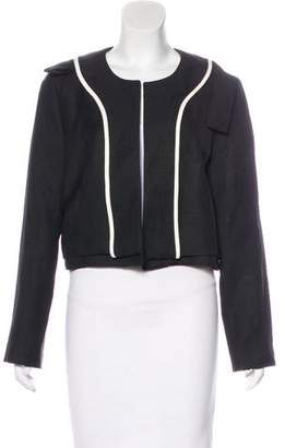 Chloé Collarless Cropped Jacket
