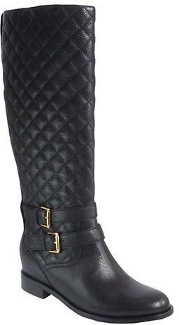 Kate Spade Kate Spade New York Sutton Quilted Leather Boots