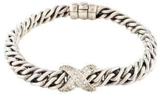 David Yurman Diamond X Bracelet