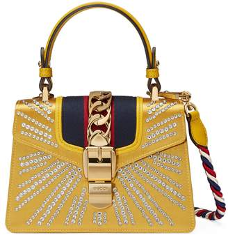 Gucci Sylvie crystal mini bag